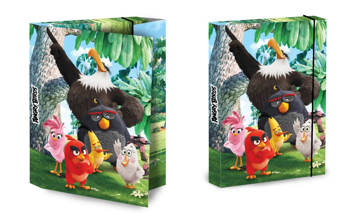 Füzetbox A4 Angry Birds Movie  -