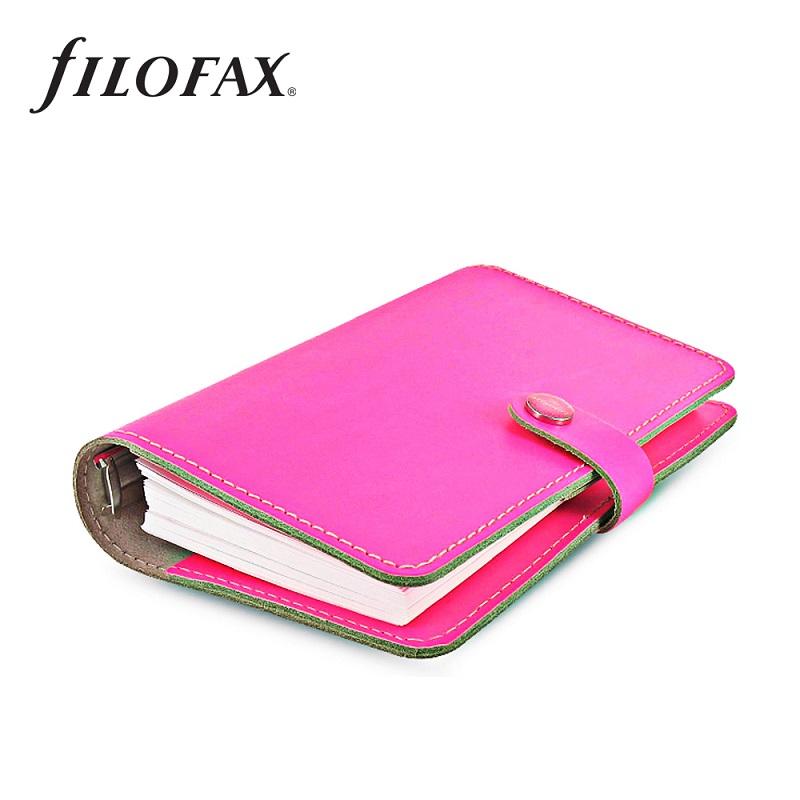 Filofax Original Personal Fluoro Pink - fc26ed29a2
